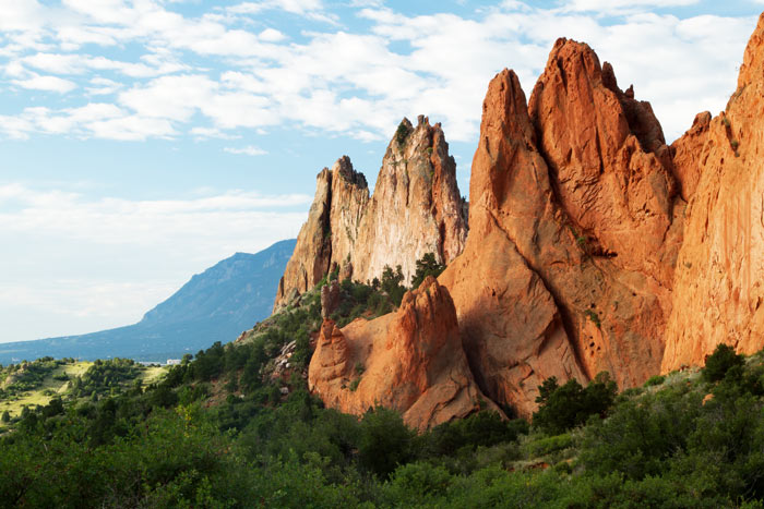 stunning Colorado landscape - Garden of the Gods - Colorado Springs